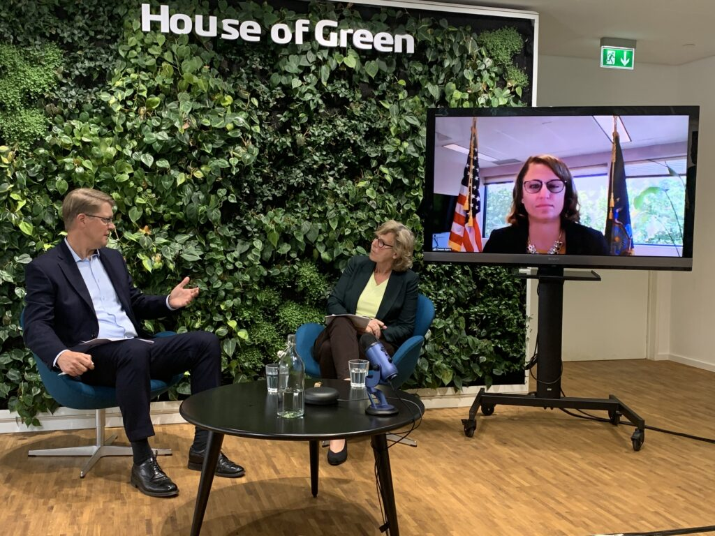 Climate Week NYC: Denmark and New York will Build Back Greener
