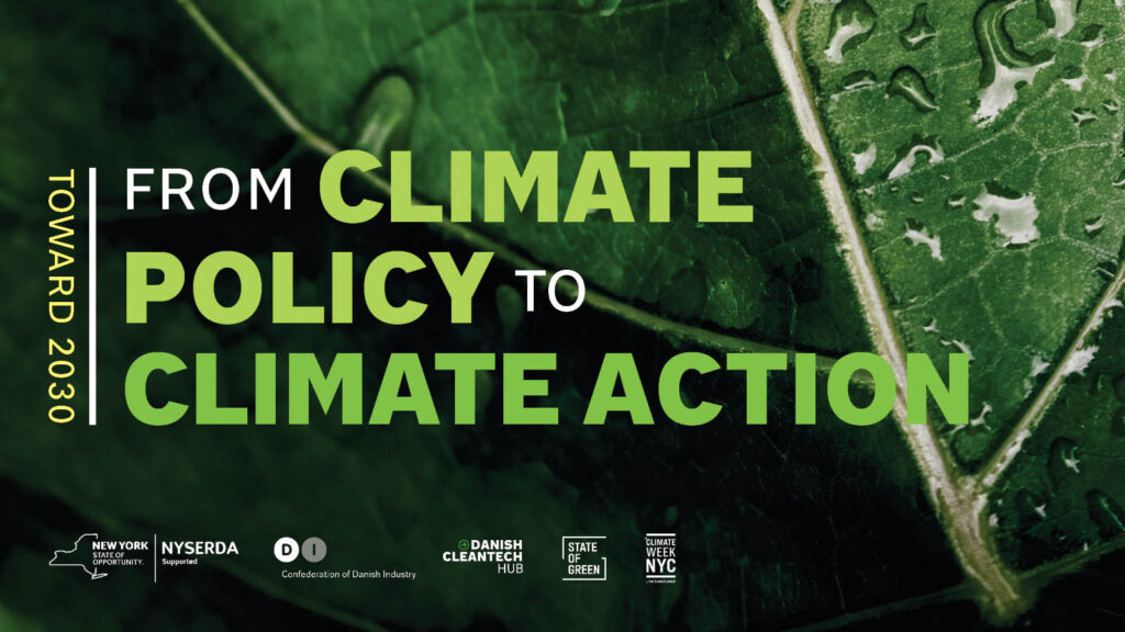 Registration is now open: Toward 2030: From Climate Policy to Climate Action